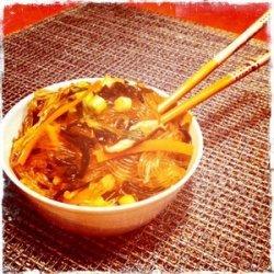 Seaweed, Shitake & Glass Noodle Salad