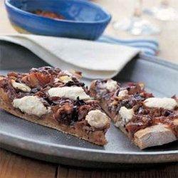 Pizza with Sauteed Radicchio