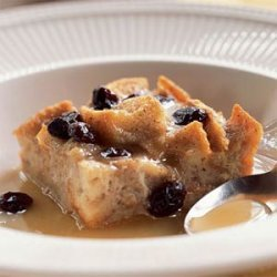 New Orleans Bread Pudding with Bourbon Sauce