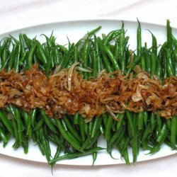Green Bean Salad with Caramelized Onions