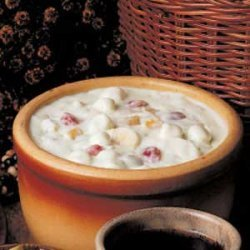 Fruited Pistachio Pudding