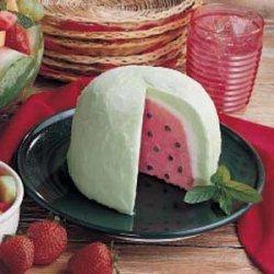 Watermelon Bombe Dessert