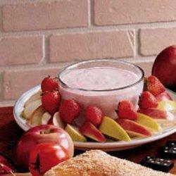 Strawberry Yogurt Dip