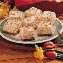 Fluffy Pineapple Torte
