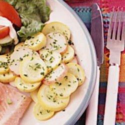 Summer Squash and Potato Saute