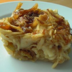 Passover Sweet Kugel recipe