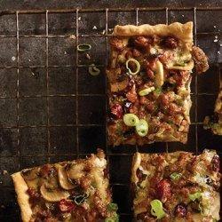 Sausage, Mushroom and Cranberry Tart