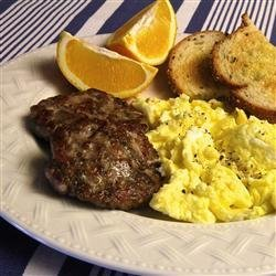 Homemade Paleo-Style Breakfast Sausage