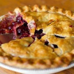 Baked Fresh Cherry Pie