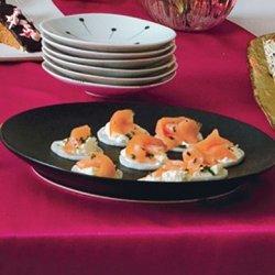 Salmon Canapés recipe