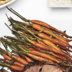 Sherry Vinegar and Molasses Glazed Carrots