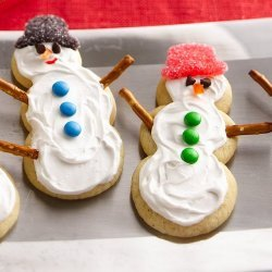 Sugar-Cookie Snowmen