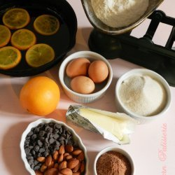 Steamed Orange Pudding