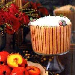 Cranberry Cognac Trifle recipe