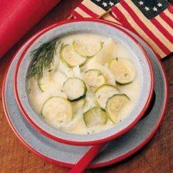 Zucchini/Potato Soup