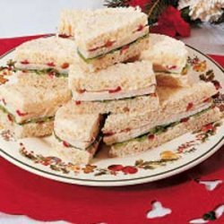 Festive Tea Sandwiches