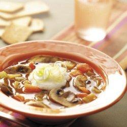 Tomato Mushroom Soup