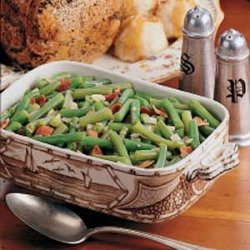 German-Style Green Beans