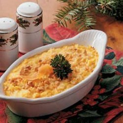 Cheesy Carrot Casserole