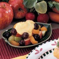 Vanilla Fruit Dessert