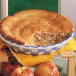 Macaroon Apple Cobbler