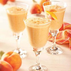 Peachy Buttermilk Shakes