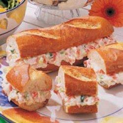 Crab Melt Loaf