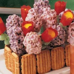 Flower Box Cake recipe