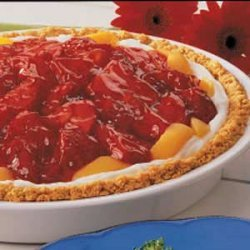 Peach Strawberry Pie