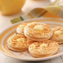 Coconut Lemon Crisps