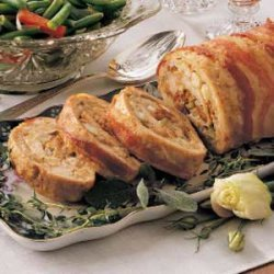 Stuffed Turkey Roll
