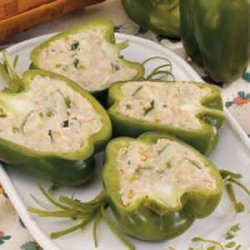Tuna Salad Pepper Cups