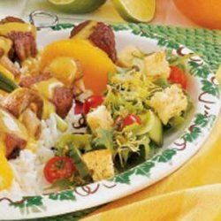 Dilly Salad Croutons recipe