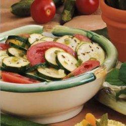 Zucchini Tomato Toss