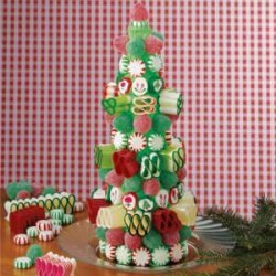 Candy Christmas Tree recipe