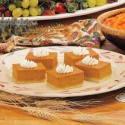 Pumpkin Shortbread Dessert