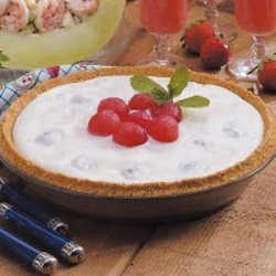 Creamy Watermelon Pie