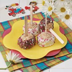 Marshmallow Treat Pops recipe