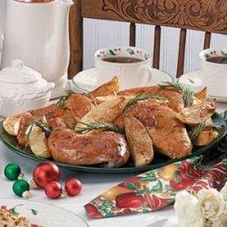 Rosemary Chicken Dinner