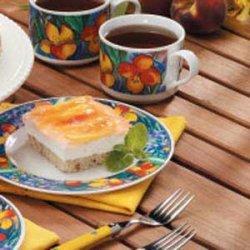 Peachy Cream Dessert