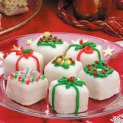 Christmas Petits Fours
