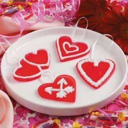 Valentine Candy Hearts recipe