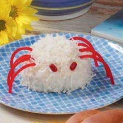 Itsy Bitsy Spider Cakes recipe