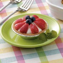 Fresh Fruit Tartlets recipe