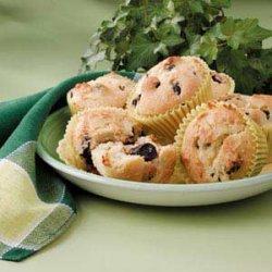 Dried Cherry Muffins
