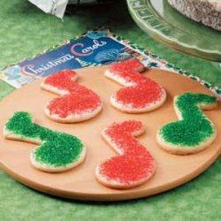 Merry Note Cookies