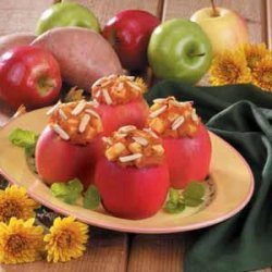Sweet Potato Stuffed Apples