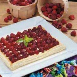 Elegant Raspberry Dessert