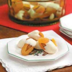 Almond Apricot Dips recipe