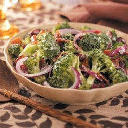 Cranberry Broccoli Salad